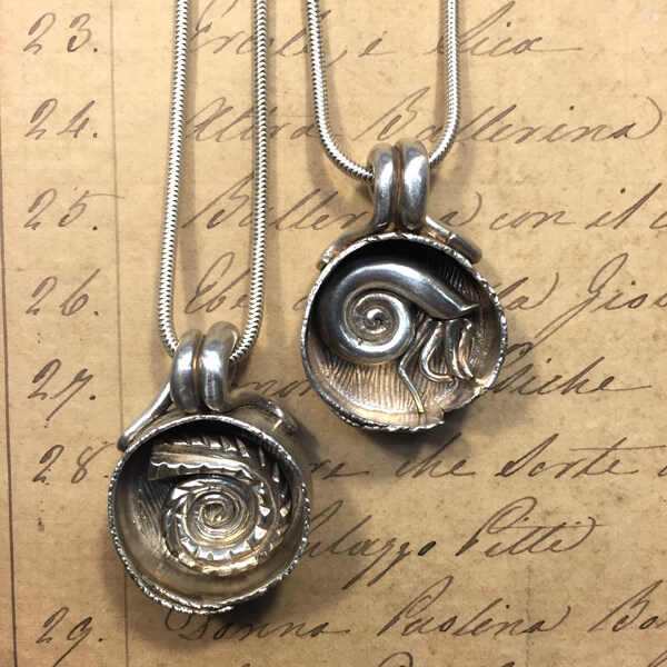 How to make a Silver Boxed Pendant from metal clay # ...   Metal Clay Boxes
